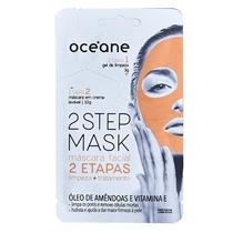 Océane Máscara Facial 2 Etapas - Dual-Step Mask Amêndoa e Vitamina E