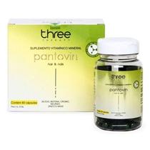Oferta Suplemento Vitamínico Força Crescimento Cabelo Pantovin Hair&Nails Three Therapy por R$ 74.9