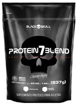 Whey Protein 7Blend Refil Black Skull 837g